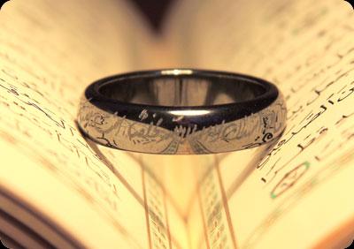 حرز عظیم هفت جلاله - حلقه انگشتر حدید