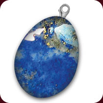 سنگ طبیعی لاجورد ( لاپیس لازولی )